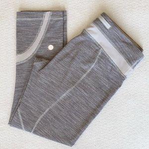 Lululemon mid rise crop leggings